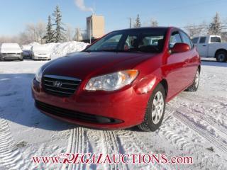 Used 2009 Hyundai Elantra GL 4D Sedan 2.0L for sale in Calgary, AB