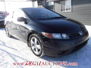 Used 2008 Honda CIVIC EX 2D COUPE for sale in Calgary, AB