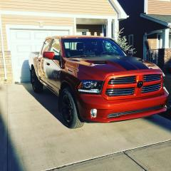 Used 2017 RAM 1500 Sport (Copperhead Edition) for sale in Red Deer, AB