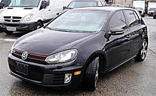Used 2011 Volkswagen Golf GTI CERTIFIED W/2YEAR WARR for sale in Aurora, ON