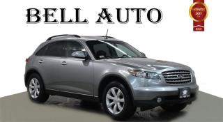 Used 2005 Infiniti FX35 AWD LEATHER SUNROOF for sale in North York, ON