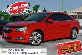 Used 2012 Chevrolet Cruze LT Turbo AUTO SUNROOF A/C ALLOYS REMOTE START for sale in Ottawa, ON