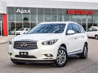 Used 2014 Infiniti QX60 AWD 7 Passenger Seating*Heated Seats*Leather for sale in Ajax, ON