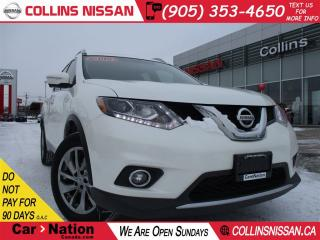 Used 2015 Nissan Rogue SL | ALLOYS | LEATHER | PANORAMIC  ROOF |  AWD | for sale in St Catharines, ON