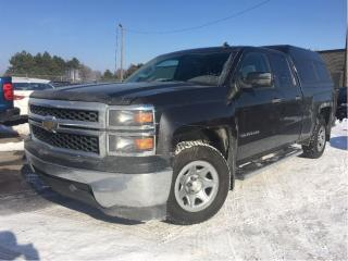 Used 2014 Chevrolet Silverado 1500 1WT 6CYL 2WD EXTCAB for sale in St Catharines, ON