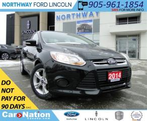 Used 2014 Ford Focus SE | LOW KM | BLUETOOTH | SAVE FUEL | for sale in Brantford, ON