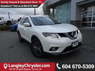 Used 2016 Nissan Rogue SL Premium *ACCIDENT FREE*ONE OWNER*LOCAL BC CAR* for sale in Surrey, BC