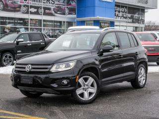 Used 2014 Volkswagen Tiguan COMFORTLINE, AWD, LEATHER, SUNROOF, 4MOTION!!! for sale in Ottawa, ON