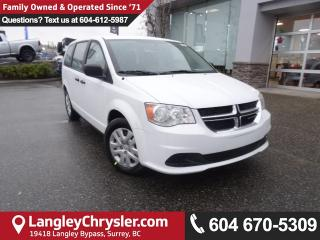 New 2018 Dodge Grand Caravan CVP/SXT Canada Value Package for sale in Surrey, BC