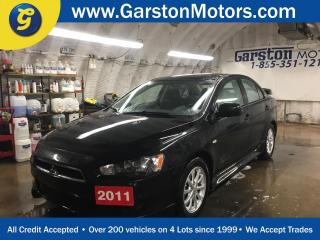 Used 2011 Mitsubishi Lancer SE*KEYLESS ENTRY*CLIMATE CONTROL*POWER WINDOWS/LOCKS/MIRRORS*PHONE CONNECT*CRUISE CONTROL*TRACTION CONTROL* for sale in Cambridge, ON
