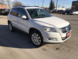 Used 2010 Volkswagen Tiguan Comfortline 2.0T Sunroof for sale in Brampton, ON