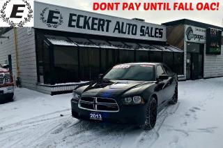 Used 2013 Dodge Charger SE WITH DUAL EXHAUST AND CUSTOM RIMS for sale in Barrie, ON