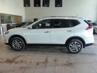 Used 2015 Nissan Rogue SL - Heated Leather, B/U+Front Cams, Nav for sale in Red Deer, AB