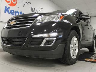 Used 2013 Chevrolet Traverse 2LT AWD with heated power leather seats, twin panel moonroof, and a power liftgate. enjoy the simple things for sale in Edmonton, AB