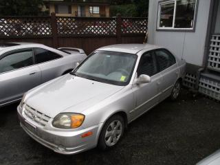 Used 2004 Hyundai Accent GL w/Comfort Grp for sale in Surrey, BC