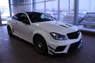 Used 2012 Mercedes-Benz C-Class C63 Coupé Black for sale in Quebec, QC
