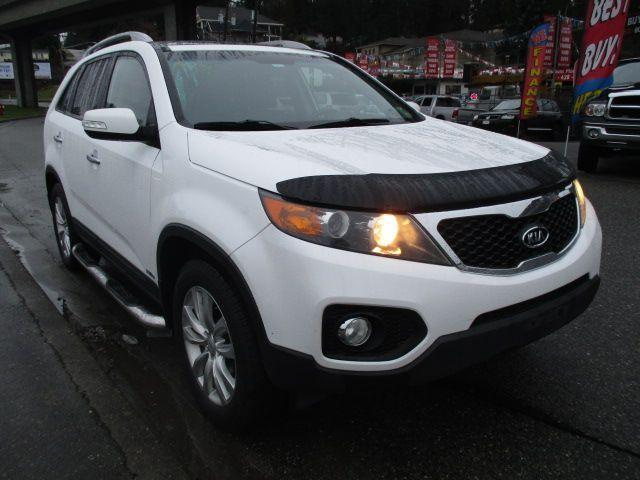 used 2011 kia sorento ex luxury with 3rd row for sale in surrey british columbia. Black Bedroom Furniture Sets. Home Design Ideas