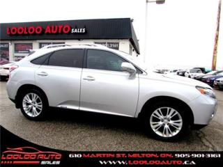 Used 2010 Lexus RX 450h ULTRA PREMIUM HEAD UP DISPLAY NAVIGATION DUAL DVD for sale in Milton, ON