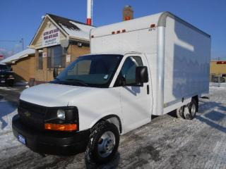 Used 2011 Chevrolet Express 3500 Cube Van 14Ft Aluminium Box Loaded ONLY 17,000KMs for sale in Etobicoke, ON