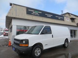 Used 2006 Chevrolet Express 2500 SUPER CLEAN BODY, EXCELLENT RUNNING CONDITION,CERT for sale in Mississauga, ON