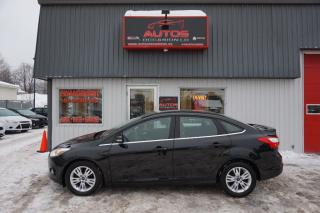 Used 2012 Ford Focus SEL for sale in Saint-romuald, QC