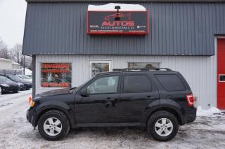 Used 2011 Ford Escape XLT for sale in Saint-romuald, QC