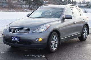 Used 2009 Infiniti EX35 AWD Leather - SunRoof - BackUp Camera Mint! for sale in North York, ON