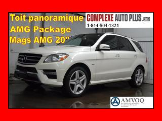 Used 2012 Mercedes-Benz ML-Class ML350 BLUETEC AWD for sale in Saint-jerome, QC
