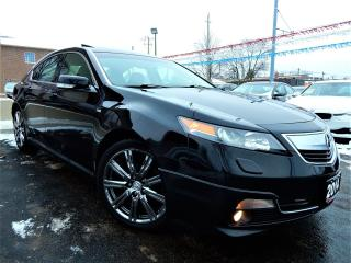 Used 2014 Acura TL A-SPEC SH-AWD | LEATHER.ROOF | ONE OWNER for sale in Kitchener, ON