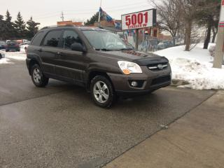 Used 2009 Kia Sportage AWD,LEATHER,ROOF,MAGS,SAFETY+YEARS WARRANTY INCLUD for sale in North York, ON