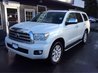 Used 2011 Toyota Sequoia Platinum for sale in Parksville, BC