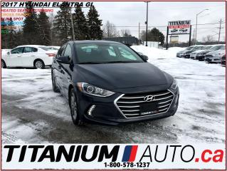 Used 2017 Hyundai Elantra GL+Camera+Heated Seats & Steering Wheel+Rear Cross for sale in London, ON