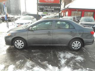 Used 2011 Toyota Corolla MINT LOW KM! for sale in Scarborough, ON