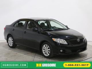 Used 2010 Toyota Corolla Le A/c Toit Mags for sale in Saint-leonard, QC