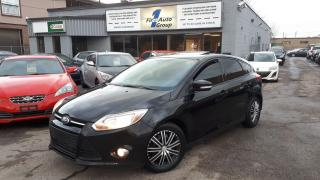 Used 2014 Ford Focus SE LEATHER, P-ROOF for sale in Etobicoke, ON