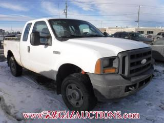 Used 2006 Ford F250SD XL SUPERCAB for sale in Calgary, AB