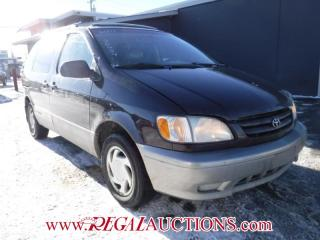 Used 2001 Toyota SIENNA LE 4D WAGON for sale in Calgary, AB