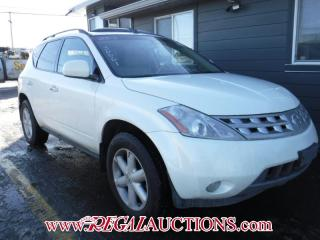 Used 2003 Nissan MURANO  4D UTILITY 4WD for sale in Calgary, AB
