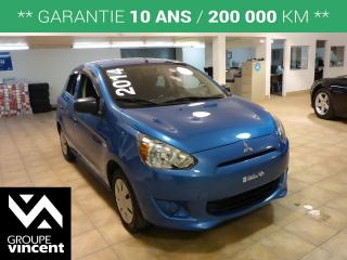 Used 2014 Mitsubishi Mirage ES for sale in Shawinigan, QC
