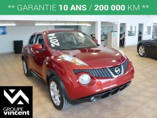 Used 2014 Nissan Juke SL AWD for sale in Shawinigan, QC