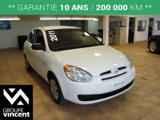 Used 2011 Hyundai Accent GL A/C for sale in Shawinigan, QC