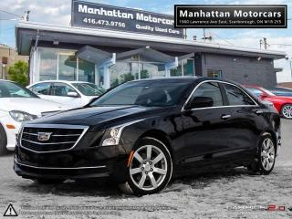 Used 2015 Cadillac ATS 2.5L PREMIUM |CAMERA|NOACCIDENT|WARRANTY|59KM for sale in Scarborough, ON