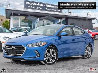Used 2017 Hyundai Elantra GLS |AUTO|FAC.WARRANTY|ROOF|ALLOY|24000KM for sale in Scarborough, ON