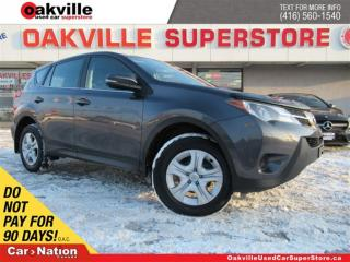 Used 2015 Toyota RAV4 LE   AWD   CRUISE CONTROL   BLUETOOTH   A/C for sale in Oakville, ON