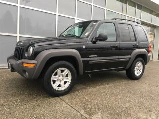Used 2004 Jeep Liberty Sport for sale in Surrey, BC