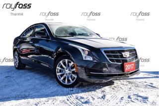 Used 2017 Cadillac ATS Luxury AWD Nav Sunroof 17Polished Whls for sale in Thornhill, ON