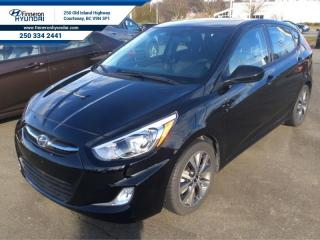 Used 2017 Hyundai Accent SE  Sunroof, Alloy Wheels, Blue tooth for sale in Courtenay, BC