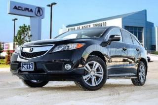 Used 2015 Acura RDX Tech at Accident Free| GPS| Back Up Cam|Sunroof for sale in Thornhill, ON