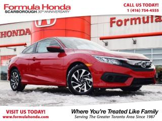 Used 2017 Honda Civic COUPE LX HS SPORTY | AUTOMATIC for sale in Scarborough, ON