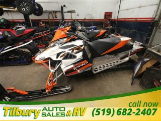 Used 2015 ARCTIC CAT ZR9000 WE TAKE TRADES for sale in Tilbury, ON